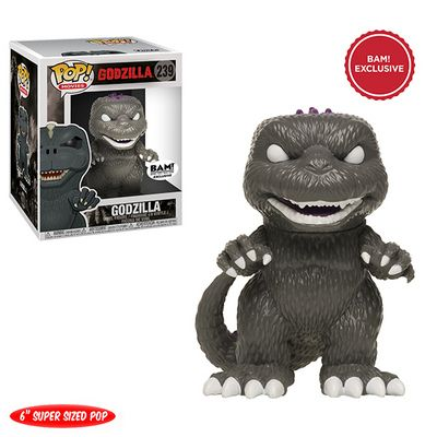 New Exclusive Funko Pop Godzilla Announced Luminous